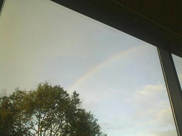 Regenboog!