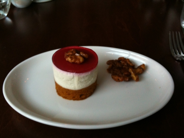 @Rick_Bayless they look delicious. We went light. Pumpkin cake yogurt and pomegranite glaze.