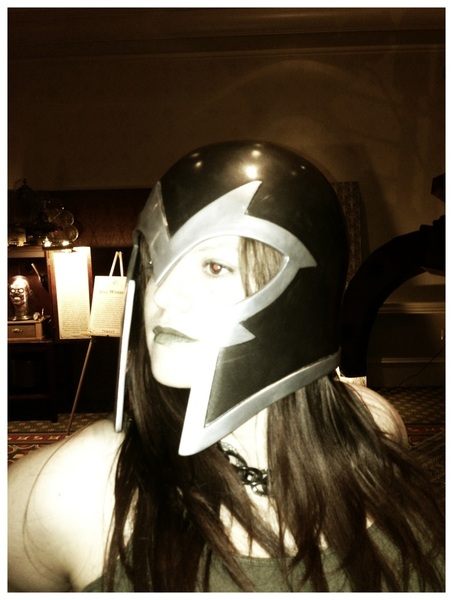 So @zombilicious decided that she was actually magneto. #fb