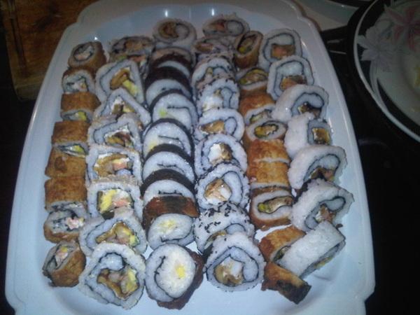 Mira ve! #Sushi