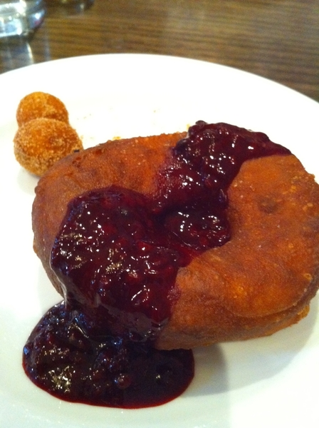 Ah, another great brunch at Nightwood in Pilsen. Especially the fried to order donuts with local fruit compotes