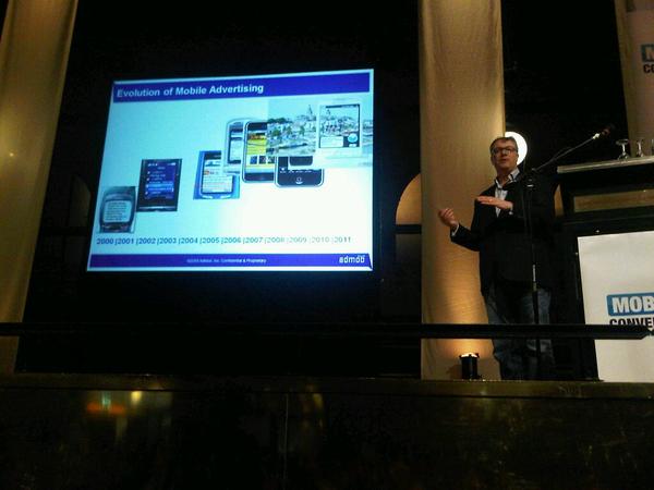 Admob: 10 jaar mob adv van sms naar augmented reality #mobileconvention