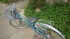 本日のイベントは、 午前中、レンタル自転車に乗って、ちょい郊外の野菜畑&町中の食材市場を見学