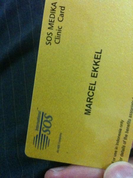 My SOS clinic card