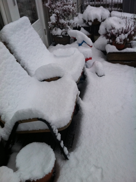 Amsterdam - snow