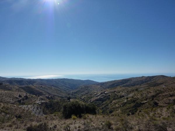 Impresiona Sierra Nevada ... #fb ... y ... cuando te das la vuelta, ves el mar
