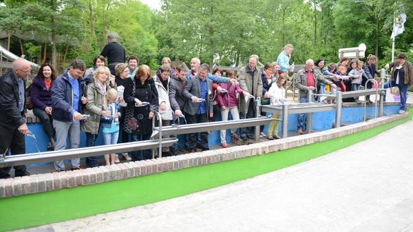 Officiële oplevering #waterspeelplaats @kwekkeltje #rosmalen