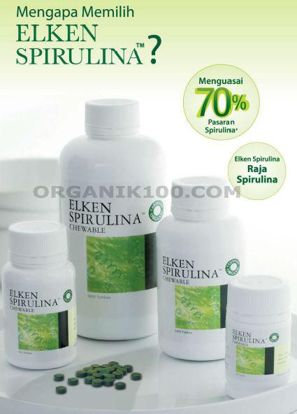 Makanan Penambah Berat Badan Konsumsi Elken Spirulina