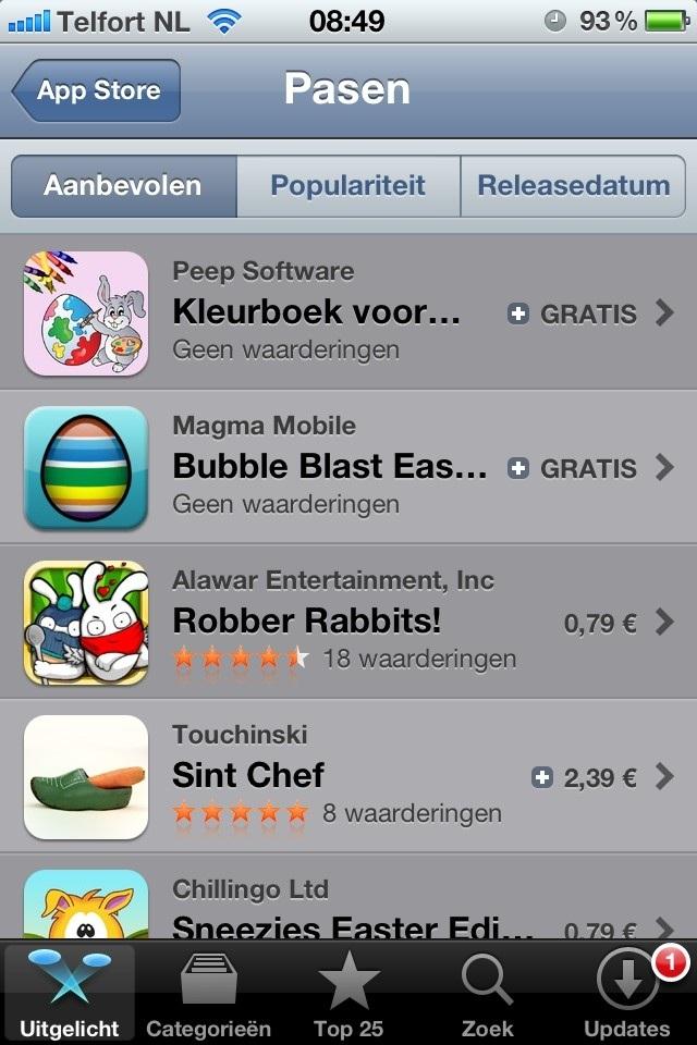 App voor