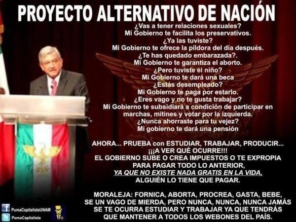 PROYECTO ALTERNATIVO SIN NOCIÓN? #DF #NL #Ver #Coah #Oax #Chih #Mich #Juarez #Tamaulipas #Mty #Coahuila #CdVictoria