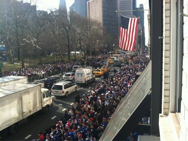 #Giants Parade!