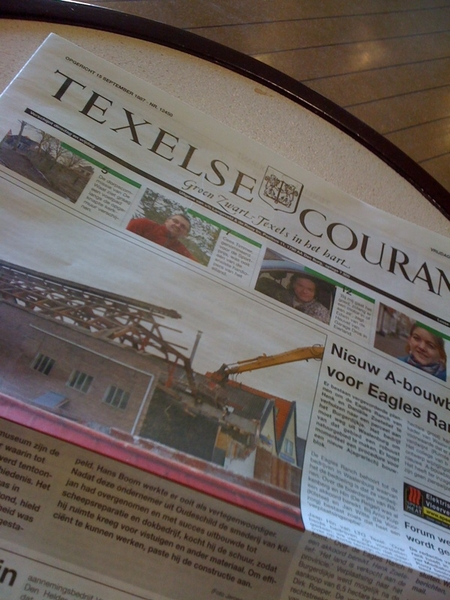 Texelse courant is nu full color. #medianieuws #texel
