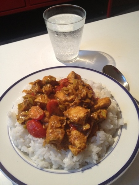 Chicken curry #food