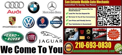 Foreign Car Auto Repair San Antonio Mobile Mechanic