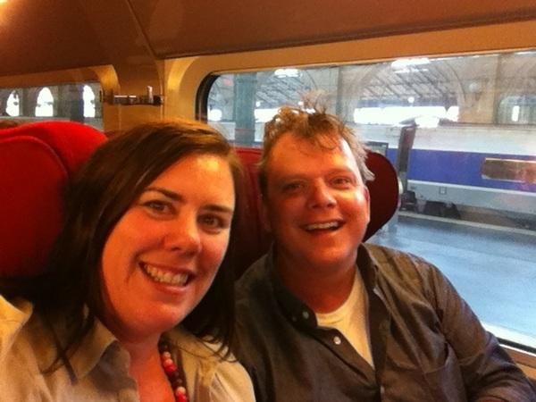 All aboard! Ready to depart. Merci Paris! Etais l'awesome!