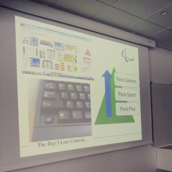 Para Play - Para Sport - Para Games.Outcome of 2 days of discussions: a new piramid!