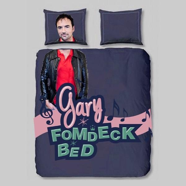 Haha! Daar is 'ie: het Gary Fom-deckbed! Bestel 'm nu. (Thanks @lammertklaas) #3FM #SR14