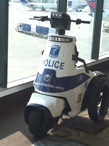 Here's the reason men become airport cops...