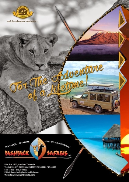 Safari Tours & Travel Service Provider by Bushbuck Safaris Ltd