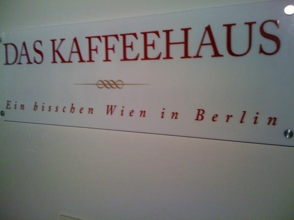 Ein bisschen Wien in Berlin...