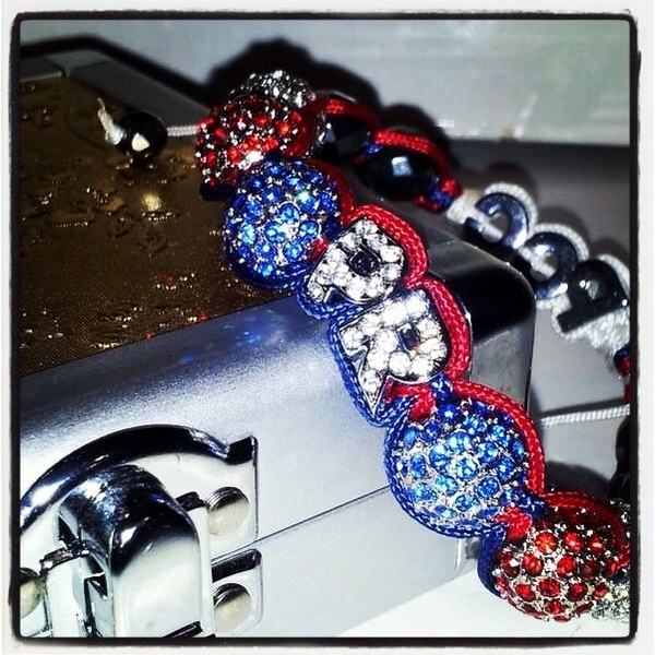 #PuertoRico #Stand Up! #Real #Custom #Shamballa #Bracelets. Available ONLY at @poetikempire - I #Love My