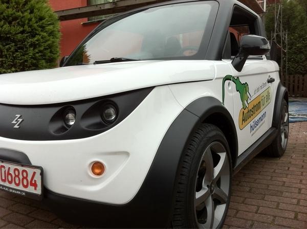 Haben einem Kompakt-Leser ein Elektroauto zur Probefahrt vorbeigebracht. Video demnächst auf IGBCE.de! #fb