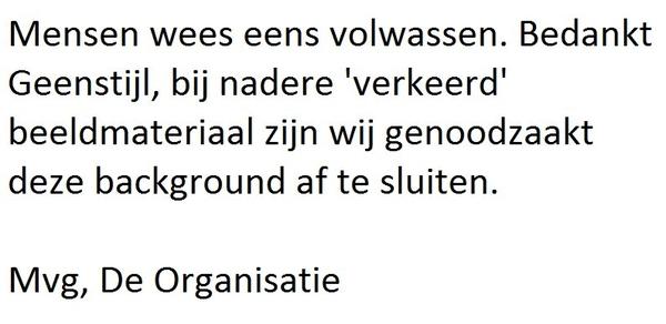 Laatste waarschuwing #dutchbloggies