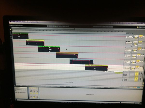 Got to track 8 of the rough edit on the new mix.... Probably Finish it tomorrow. #TechHouse-Techno