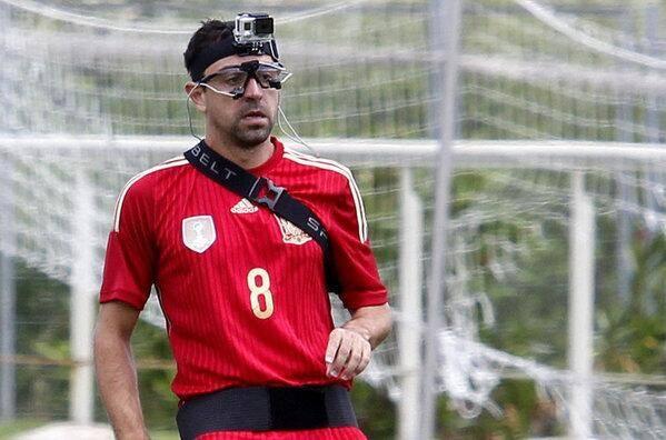 Dit noemen ze in Spanje wearable tech... #geenwoordgelogen #sportnext