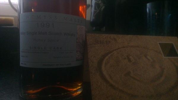Weer een nieuwe fles whisky gekregen! Dankjewel @electricluna :-)