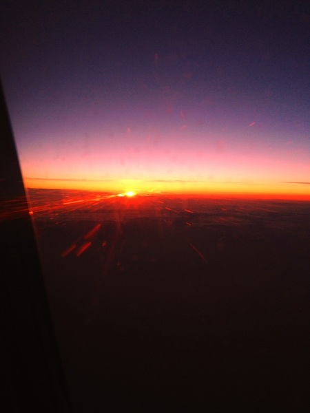 Another sunrise at 30,000 feet.. @joshwelch_