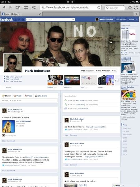 @marcsettle @ramaamultimedia I still have my FB timeline, and even conned my iPad into displaying it.