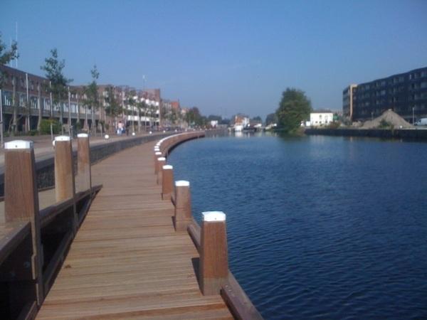 De haven van Apeldoorn