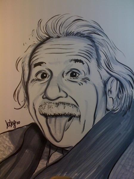 I made an Einstein.
