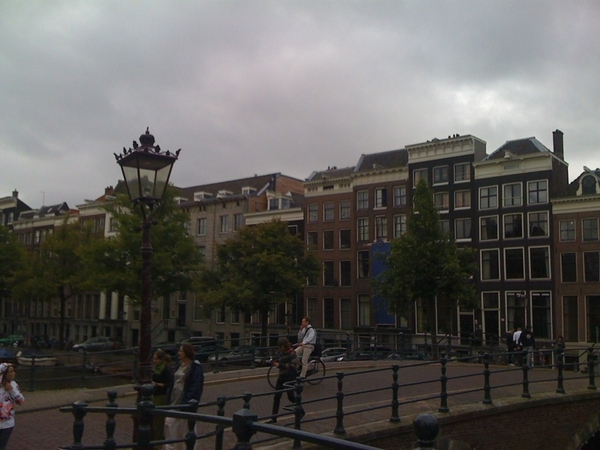Not partly cloude in Amsterdam today.