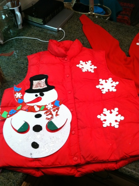 Tis the season for an ugly Christmas sweater party!