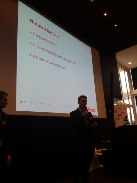 Team Eneco maakt klappers met energiecooperatie-platform. #eneco #thebattleofexcellence
