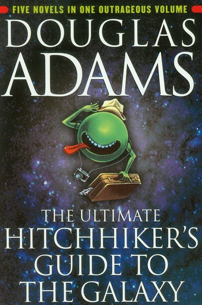 the earths destruction and the new world in hitchhikers guide to the galaxy a book by douglas adams The hitchhiker's guide to the galaxy, by douglas adams the destruction of earth for arthur adams, douglas hitchhiker's guide to the galaxy new york:.
