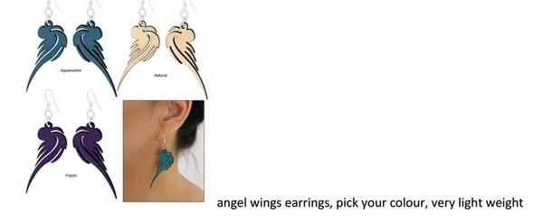 Angel Wings Ear-Rings