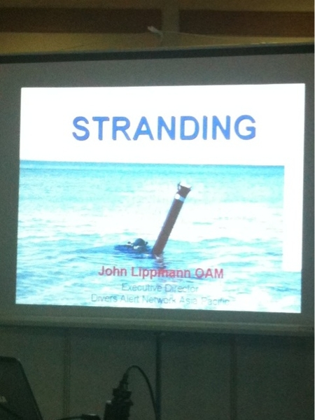 John Lippmann of DAN with a talk