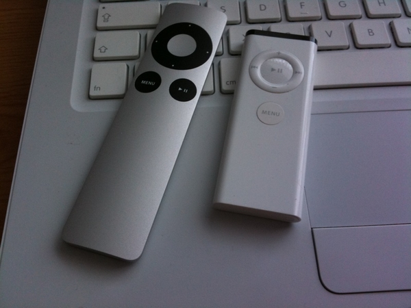 @MickyFin the white one is the old style remote, aluminium is the new one. Either will work.