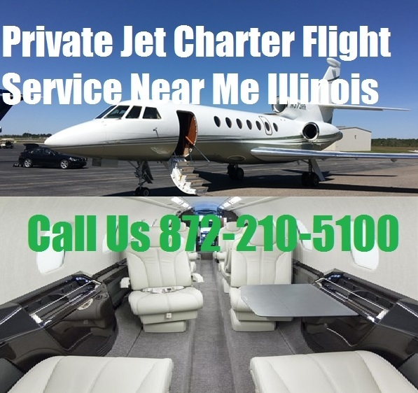 Private Plane Jet Air Charter Flight Service To Chicago