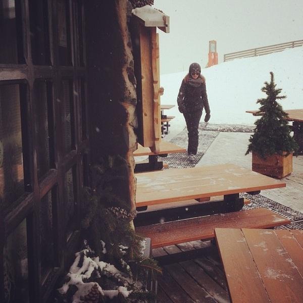schuilen #snow
