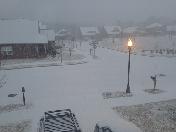 The concord at Nolensville road area. #tspotter @NashSevereWx #fb