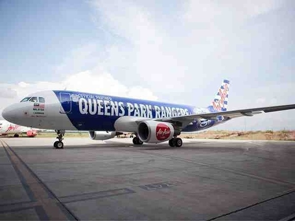 How awesome is this! And it's named after the late, great Alan McDonald #QPR #airasia