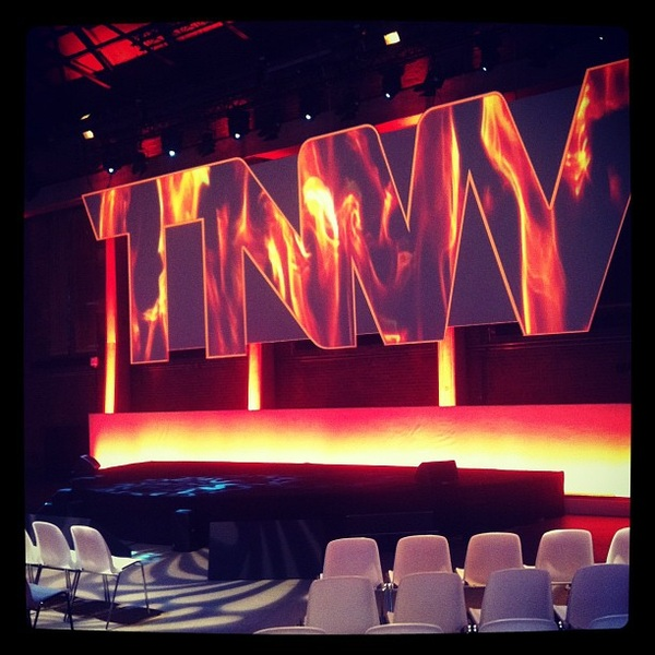 The #TNW2012 stage on fire!