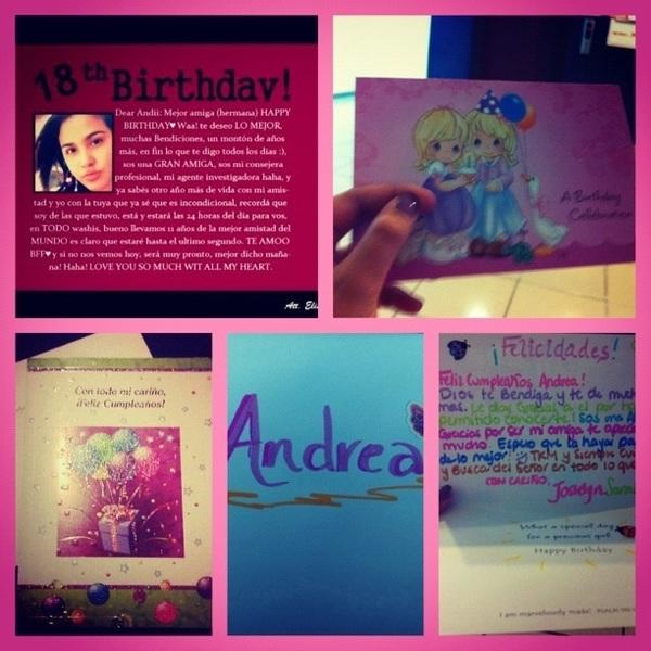 ♥Tarjetas de cumpleaños ♥ Me encantaron.