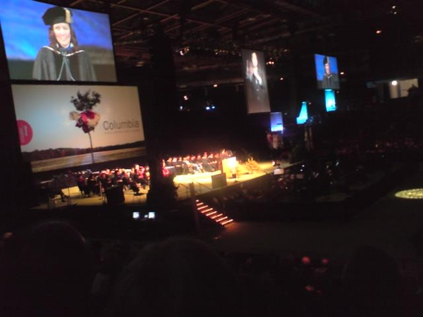 #fauxsquare Columbia College graduation