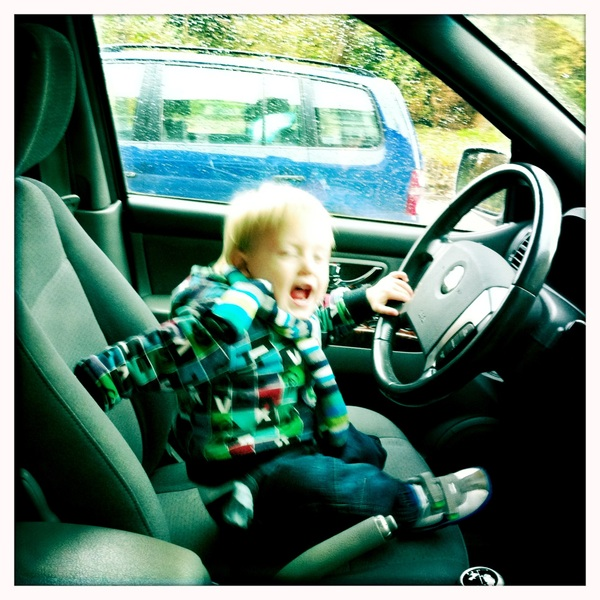 Fletcher of the day: In the drivers seat