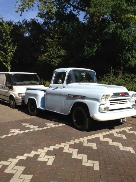 Niiiice. Chevrolet Apache parked on my street